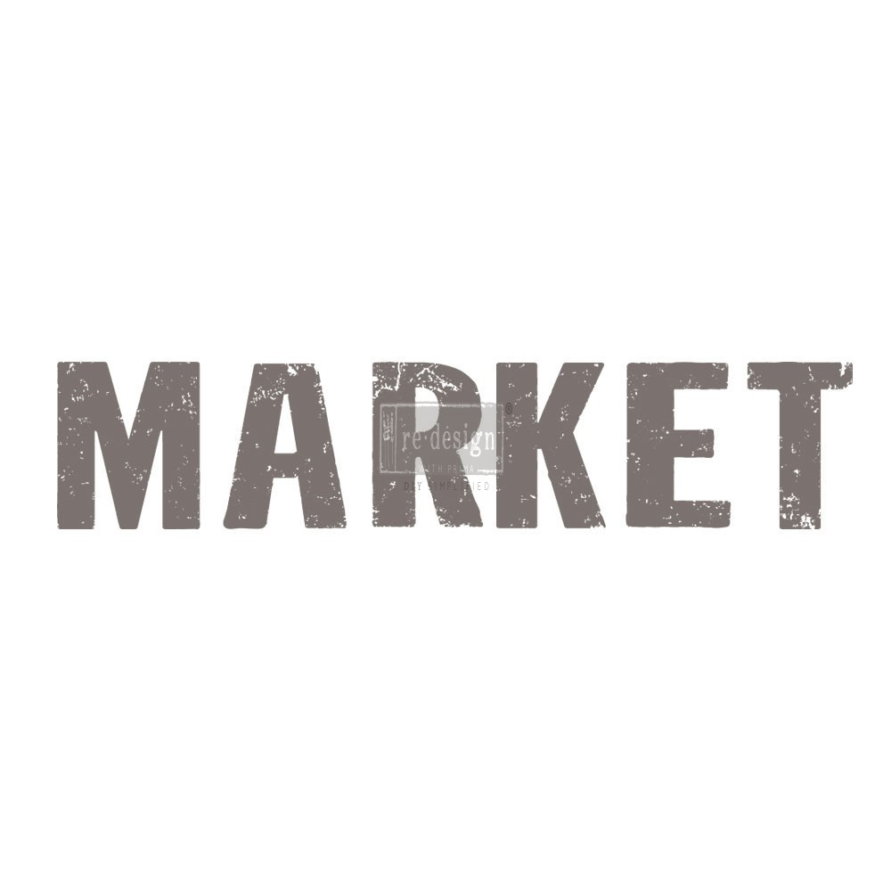 "Redesign Décor Transfers® - Market 9""x 22"""