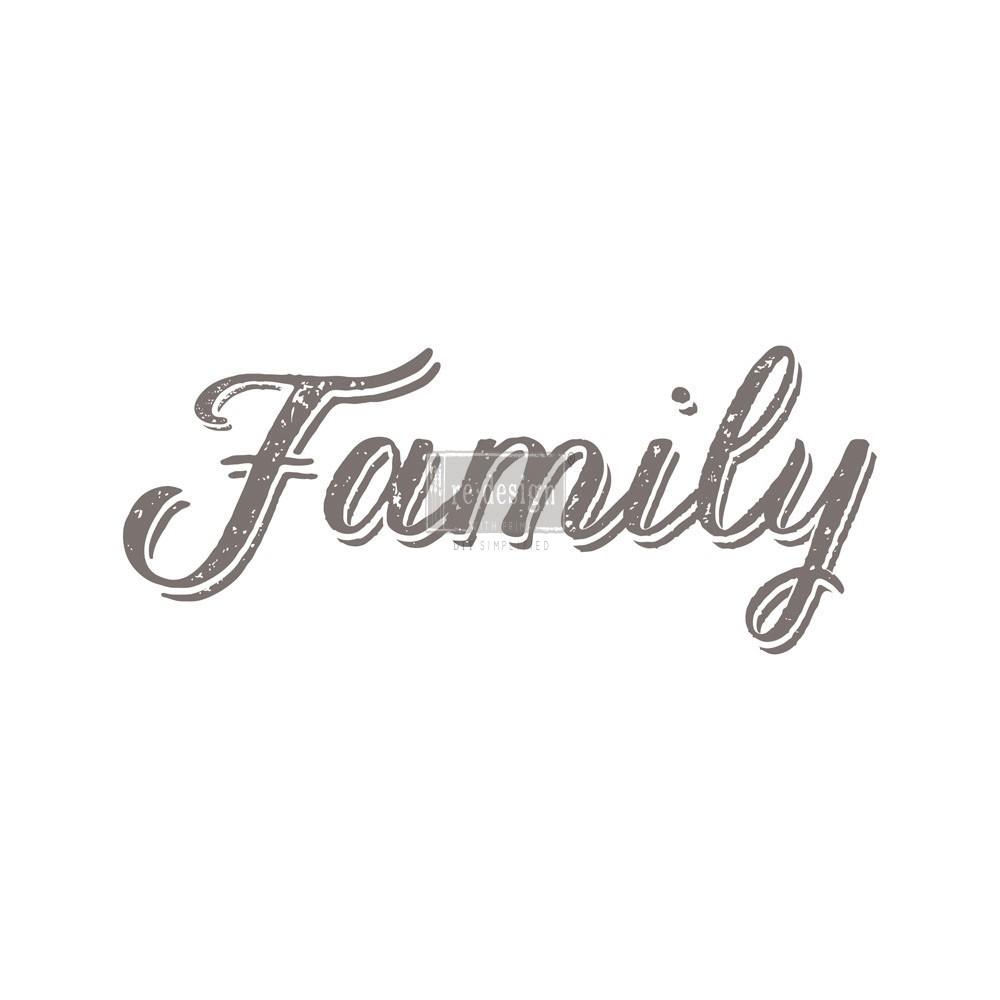 "Redesign Décor Transfers® - Family 8""x 21"""