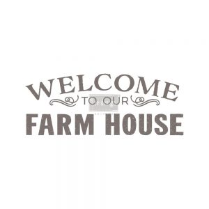 "Redesign Décor Transfers®- Our Farmhouse 13""x 34"""