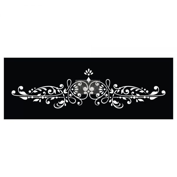 "Redesign 3D Décor Stencils - Dalia Crest 6""x 20"""