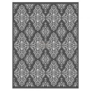"Redesign Décor Stencils® - French Damask 22""x 28"""