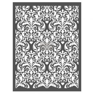 "Redesign Décor Stencils® - Imperial Damask  22""x28"""