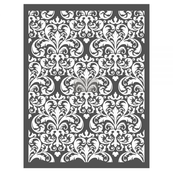 """Redesign Décor Stencils® - Imperial Damask  22""""x28"""""""