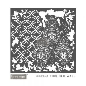 "Redesign 3D Décor Stencils - This Old Wall 22""x 22"""