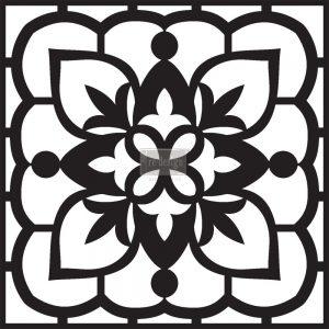 """Redesign Concrete Stencil - Moroccan Sands 11.5""""x11.5"""""""