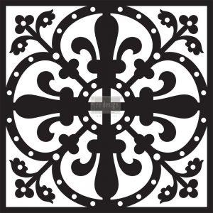 "Redesign Concrete Stencil - Sahara 11.5""x11.5"""