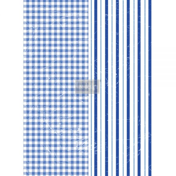 Redesign Décor Transfers® - Gingham & Stripes