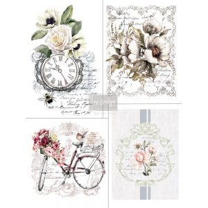 "Redesign Décor Transfers® - Bike Rides 11""x 15"" each design"
