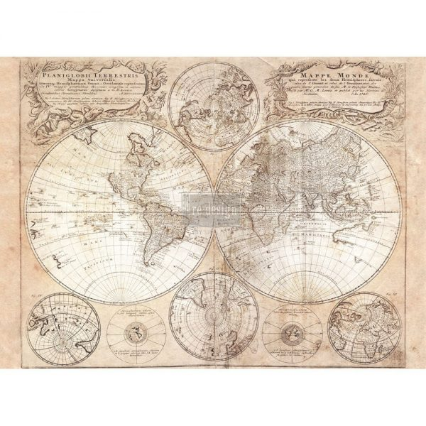 """Redesign Décor Transfers® - Old World 22""""x 30"""""""