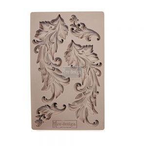 "Redesign Décor Moulds® 5""x8""- Baroque Swirls"