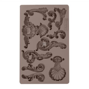 "Redesign Décor Moulds® - Oceanica Flourish 5""x 8"" 12mm thickness"
