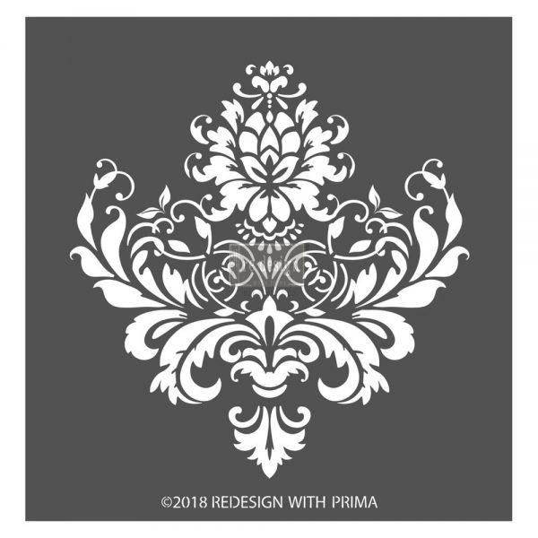 """Redesign 3D Décor Stencils - Stella Flourish 11""""x 11.5"""""""