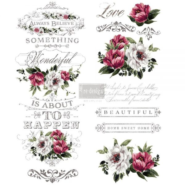 Redesign Décor Transfers® - Hopeful Wishes