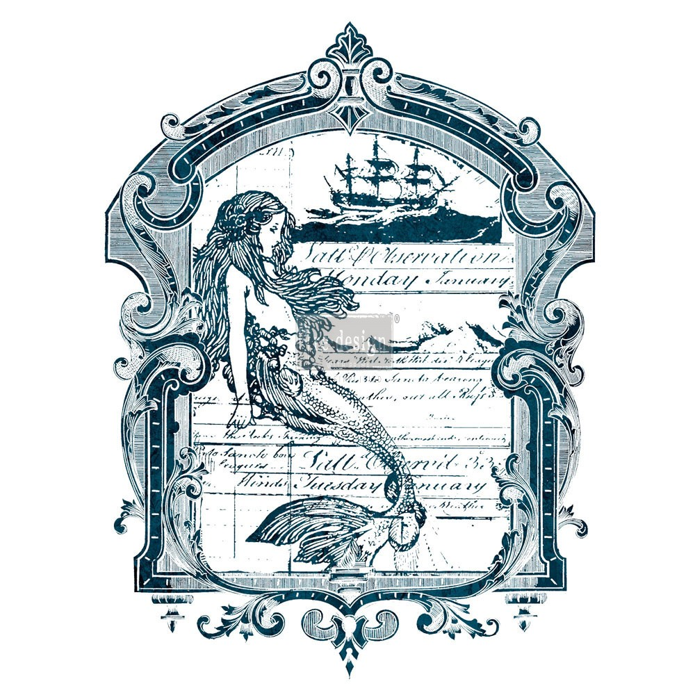 "Redesign Décor Transfers® - Mermaid 22""x 30"""
