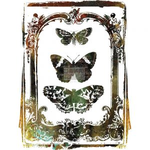 "Redesign Décor Transfers® - Butterfly Frame 24""x 34"""