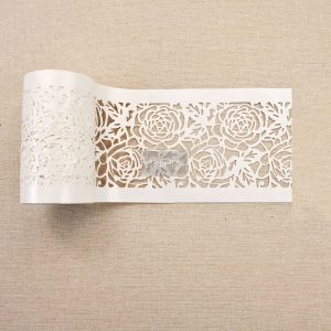 "Redesign Stick & Style Stencil Roll 4"" 15 yards- Tea Rose Garden"