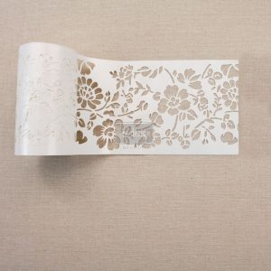 "Redesign Stick & Style Stencil Roll 4"" 15 yards- Cornelle Garden"