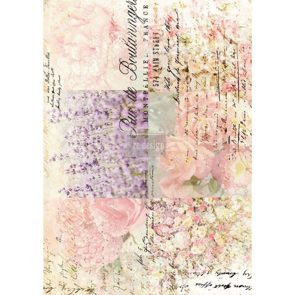 "Redesign Décor Transfers® - Floral Gardens 24""x 34"""