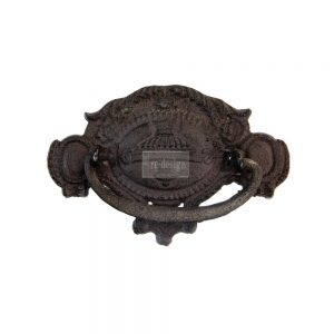"Redesign Cast Iron Pull - Romulus 3.3""x4.9"""
