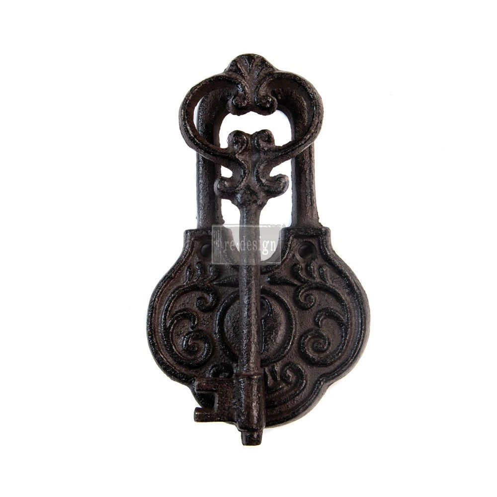 Redesign Cast Iron Knocker - Ancient Key Vintage Knocker