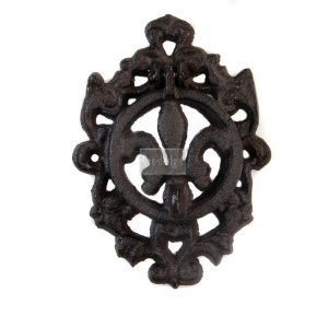 Redesign Cast Iron Knocker - Fleur De Lis II Vintage Knocker