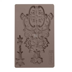 "Redesign Décor Moulds® -Garden Emblem 5""x 8""  8 mm thickness"