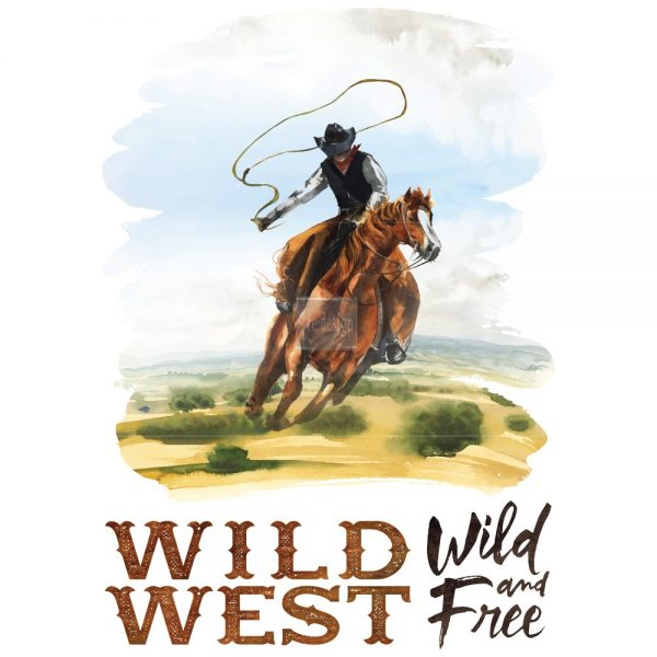 "Redesign Décor Transfers® - Wild West size 23""x 34"""