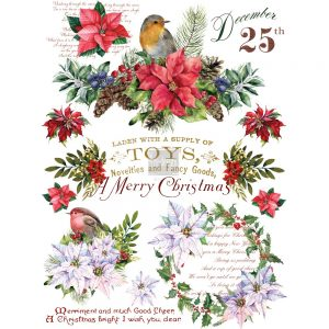 "Redesign Décor Transfers® - Christmas Greetings size 23""x 33"""