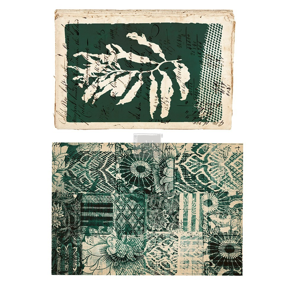 """Redesign Décor Transfers® - Algae Print size 14""""x 22"""" and 15""""x23"""""""