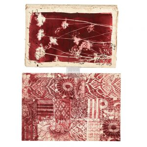 """Redesign Décor Transfers® - Botanical Print size 14""""x 22"""" and 15""""x 23"""""""
