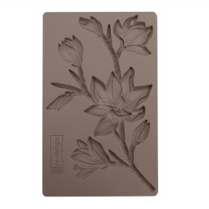 """Redesign Décor Moulds®- Forest Flora 5""""x 8""""  8 mm thickness"""