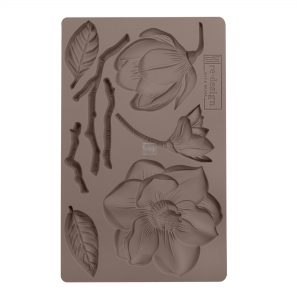 """Redesign Décor Moulds®- Winter Blooms  5""""x 8""""  8 mm thickness"""