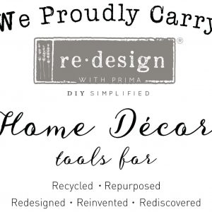 Redesign with Prima window decal