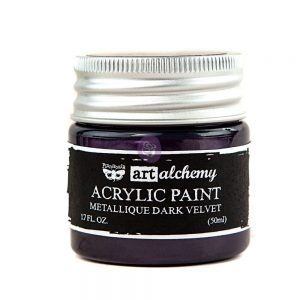 Art Alchemy-Acrylic Paint-Metallique Violet  1.7 fl.oz (50ml)