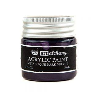 Art Alchemy-Acrylic Paint-Metallique Violet  1.7 fl.oz (50ml)