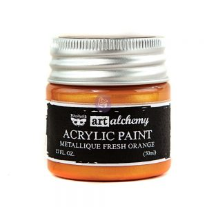 Art Alchemy-Acrylic Paint-Metallique Orange  1.7 fl.oz (50ml)
