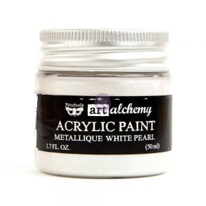 Art Alchemy - Metallique - White Pearl  1.7 fl.oz (50ml)