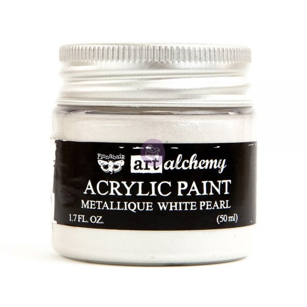 Art Alchemy - Metallique - White Pearl  1.7 fl.oz (50ml)