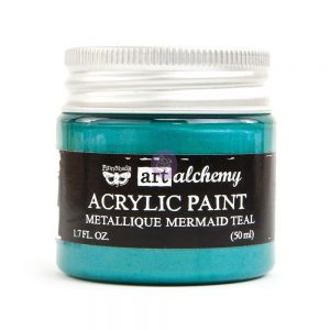 Art Alchemy - Metallique - Mermaid Teal  1.7 fl.oz (50ml)