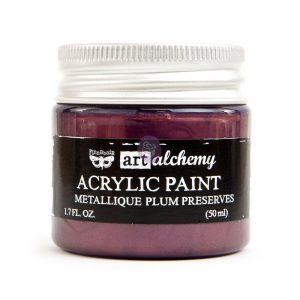 Art Alchemy - Metallique - Plum Preserves  1.7 fl.oz (50ml)