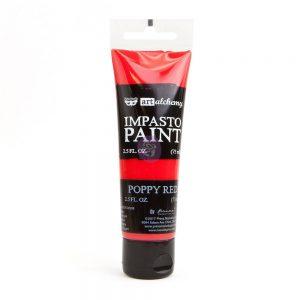 Art Alchemy - Impasto Paint - Poppy Red 2.5 oz