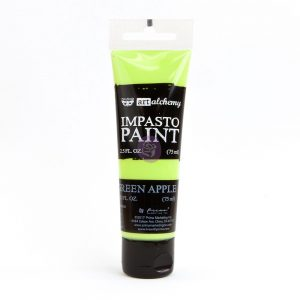 Art Alchemy - Impasto Paint - Green Apple 2.5 oz