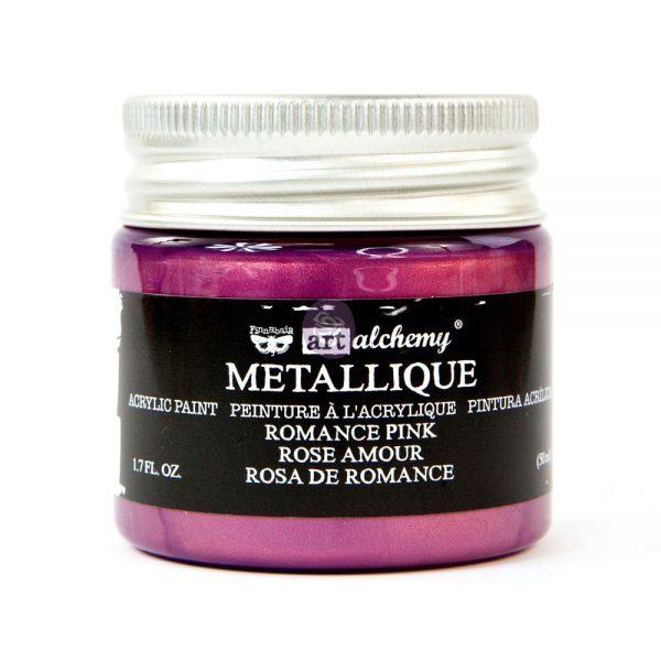 Art Alchemy Metallique Acrylic Paint - Romance Pink