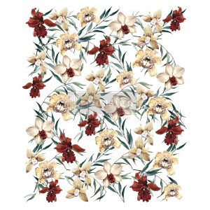 "Redesign Decor Transfers® - Wildflowers - total sheet size 24""x35"", cut into 3 sheets"