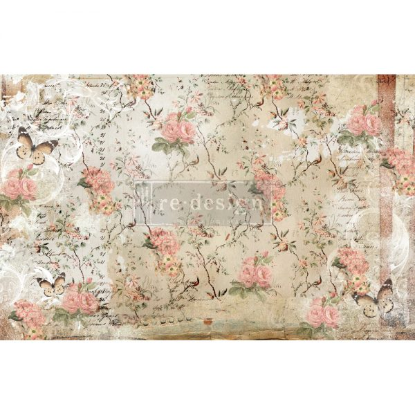 "Redesign Decoupage Décor Tissue Paper - Botanical Imprint - 2 sheets (19"" x 30"")"