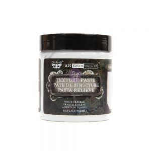 Art Extravagance-Texture Paste - White Crackle 8.45oz (250ml)