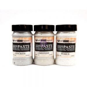 Art Extravagance - Stone Effect Pastes - Pumice, Limestone, Concrete