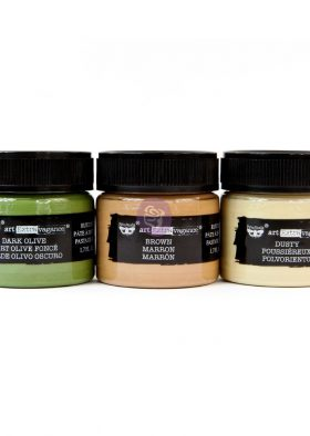Art Extravagance - Rust Paste - Camouflage set of 3