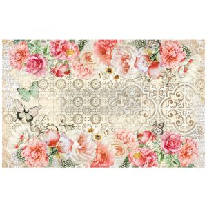 "Redesign Decoupage Decor Tissue Paper - Living Coral - 2 sheets (19"" x 30"")"