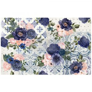 "Redesign Decoupage Decor Tissue Paper - fancy essence - 2 sheets (19"" x 30"")"